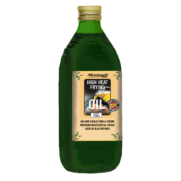 deep frying olive oil blend hard pet green bottle lt monteagle brand simpplier