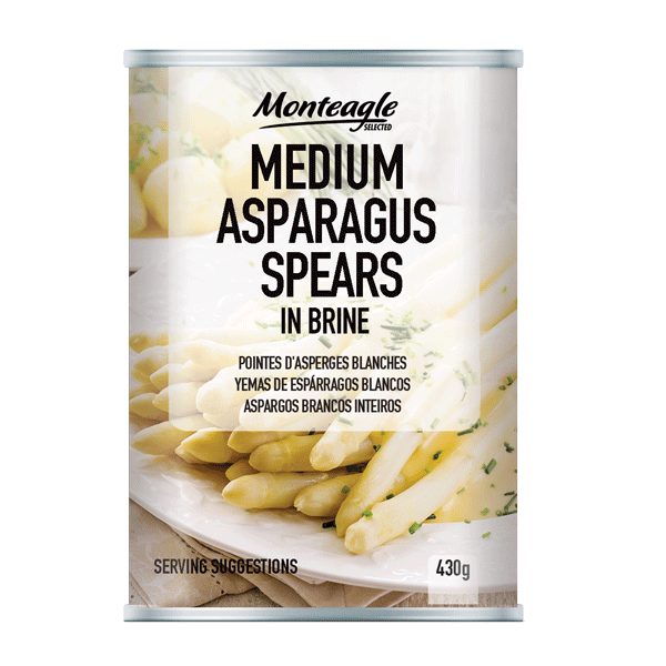 medium white asparagus spears regular can g monteagle brand simpplier