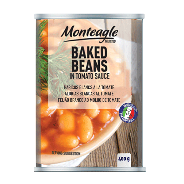 baked beans in tomato sauce easy open can g monteagle brand simpplier