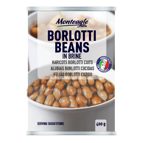 borlotti beans in brine easy open can g monteagle brand simpplier