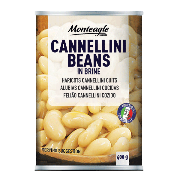 cannellini beans in brine easy open can g monteagle brand simpplier