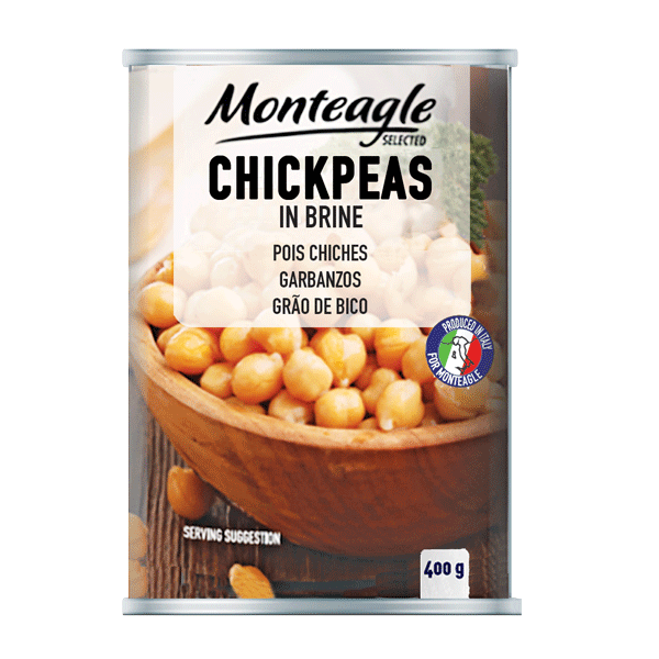 chickpeas in brine easy open can g monteagle brand simpplier