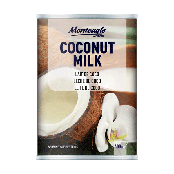 coconut milk     fat regular regular can ml monteagle brand simpplier