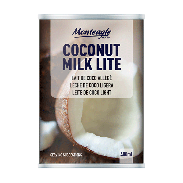 coconut milk   fat lite regular can ml monteagle brand simpplier
