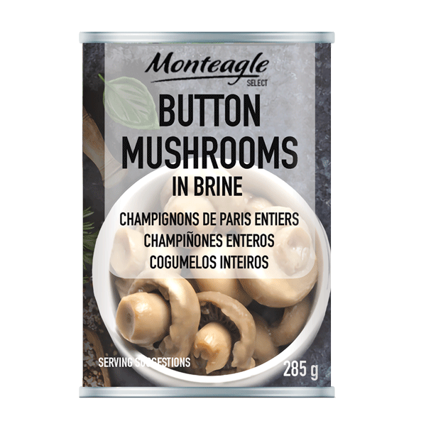 mushroom button easy open can g monteagle brand simpplier