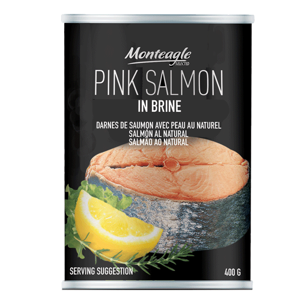 salmon in brine regular can g  monteagle brand simpplier