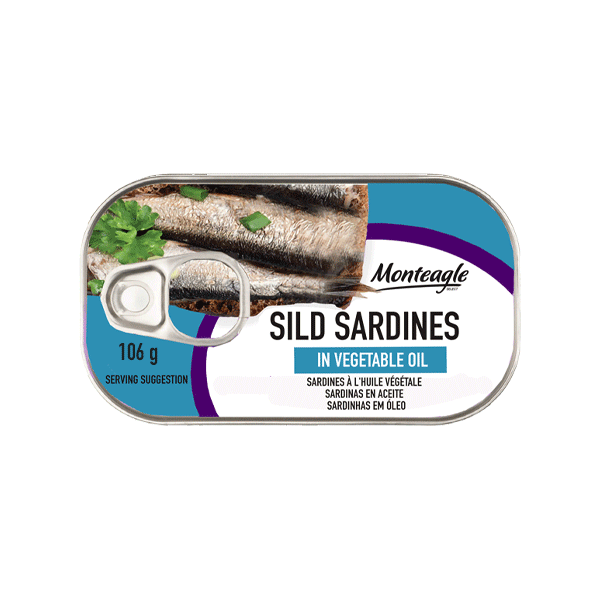 sild sardines in vegetable oil easy open can g monteagle brand simpplier