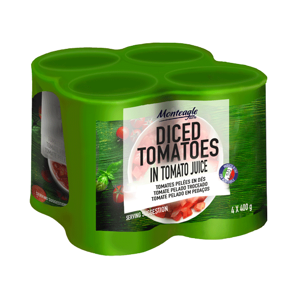 italian diced tomatoes easy open can  g  pack monteagle brand simpplier