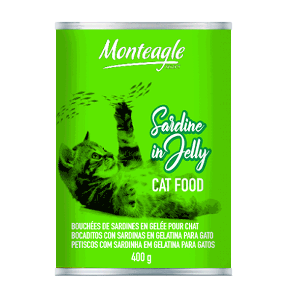 sardine in jelly cat food regular can monteagle brand simpplier