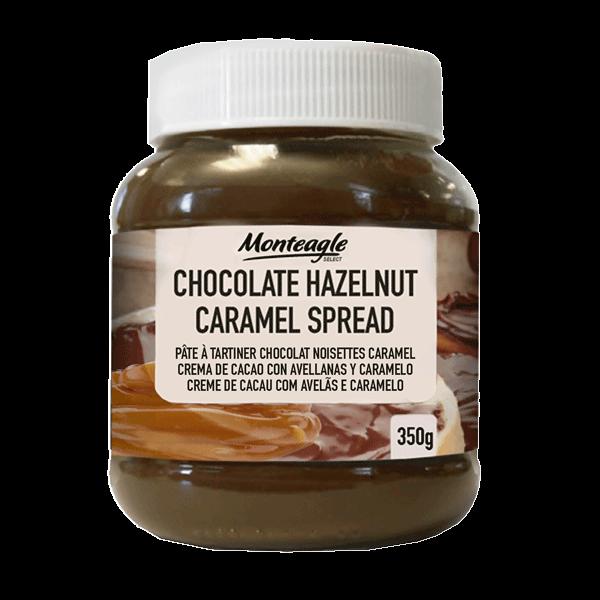 duo chocolate  hazelnut caramel spread g monteagle brand simpplier