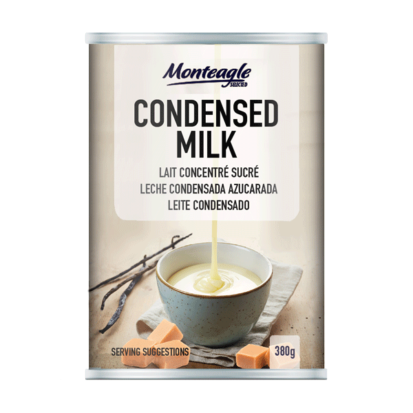 sweetened condensed  fat filled milk regular can g  monteagle brand simpplier