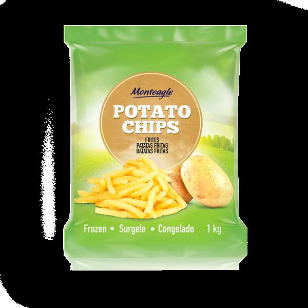 frozen french fries cut  mm a grade bag kg monteagle brand simpplier