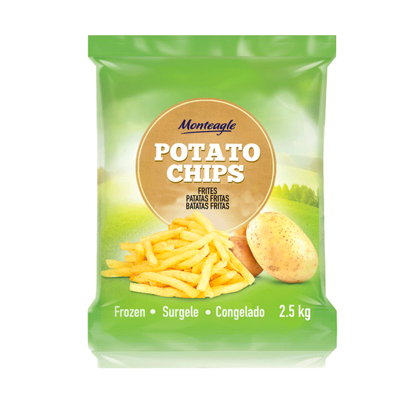 frozen french fries cut  mm b  grade bag