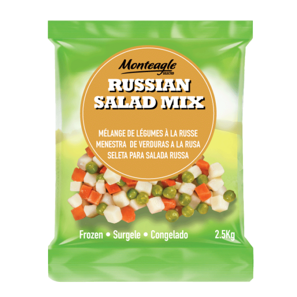 frozen russian salad mix bag