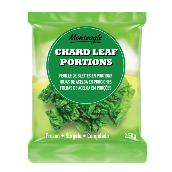 frozen chard leaf portions bag