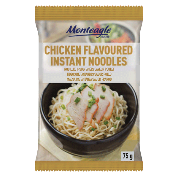 instant noodles chicken flow wrap g monteagle brand simpplier