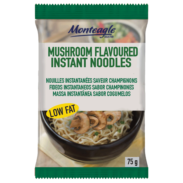 instant noodles low fat mushroom flow wrap g monteagle brand simpplier