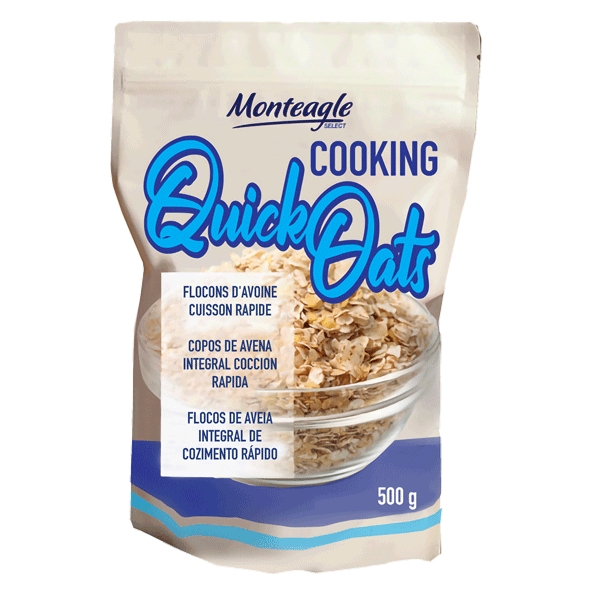 quick cooking oats stand up bag g monteagle brand simpplier