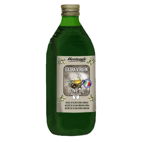 extra virgin olive oil hard pet green bottle  lt monteagle brand simpplier