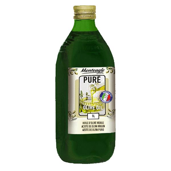 pure olive oil hard pet bottle  lt monteagle brand simpplier