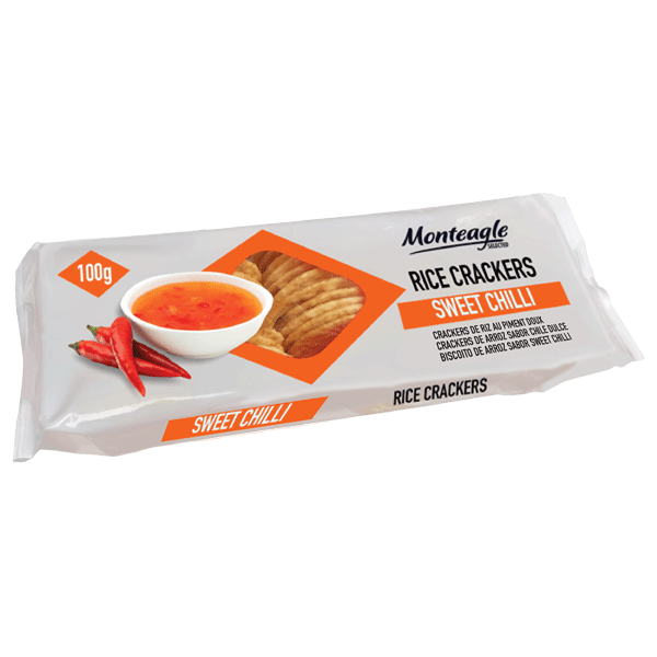 rice crackers sweet chilli flow wrap g monteagle brand simpplier