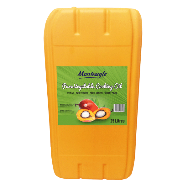 palm cooking oil cp10 jerrycan 25lt monteagle brand simpplier