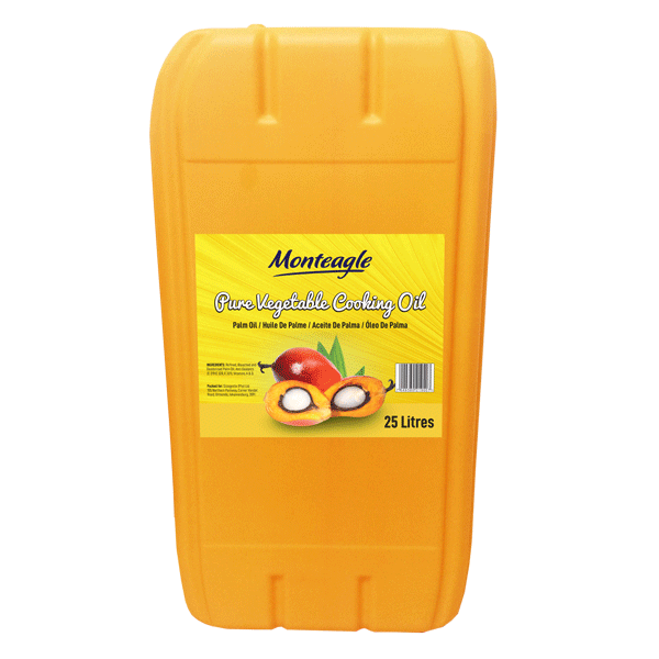 palm cooking oil cp8 jerrycan 25lt monteagle brand simpplier