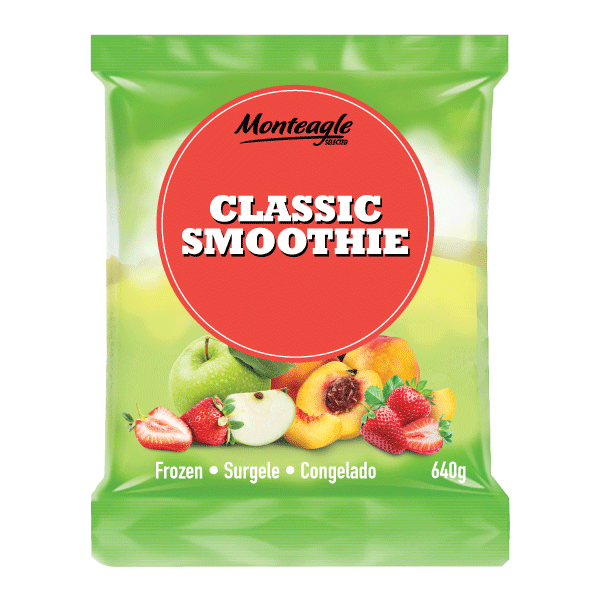 frozen classic smoothie bag 640g monteagle brand simpplier