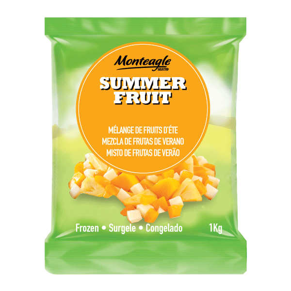 frozen summer fruit mix bag 1kg monteagle brand simpplier