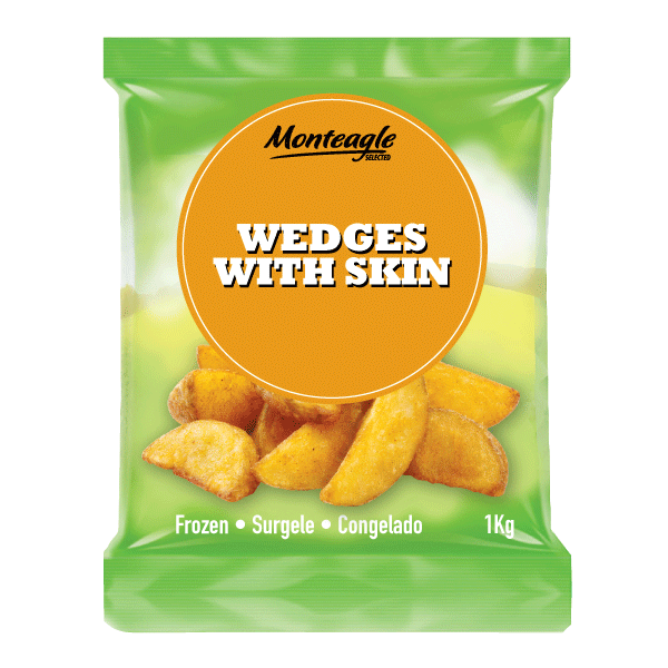 wedges with skin 1 kg monteagle brand simpplier