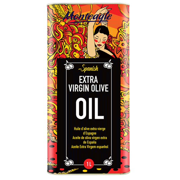 spanish extra virgin olive oil metal tin 1lt monteagle brand simpplier
