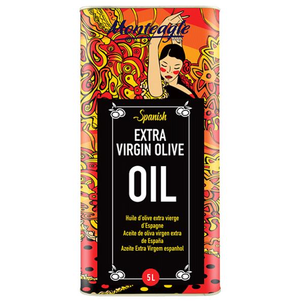 spanish extra virgin olive oil metal tin 5lt monteagle brand simpplier