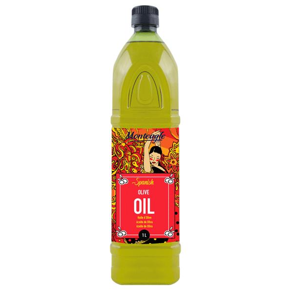 spanish virgin olive oil pet bottle 1lt monteagle brand simpplier