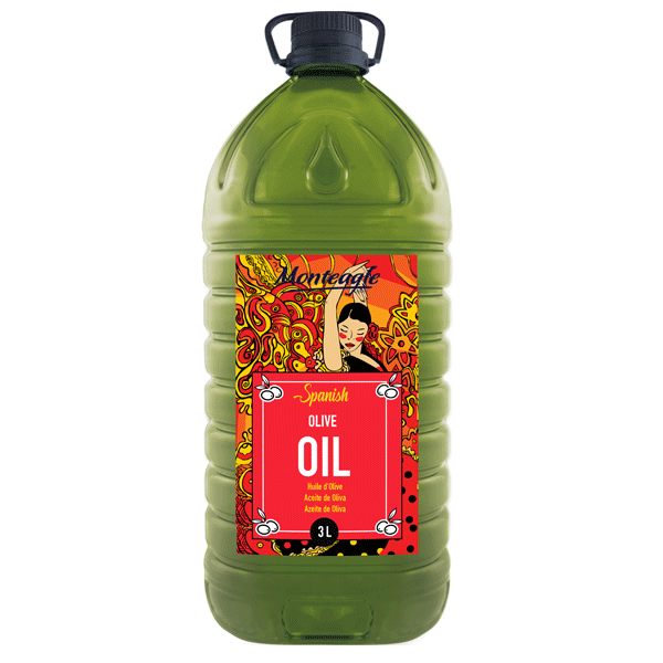 spanish virgin olive oil pet bottle 3lt monteagle brand simpplier