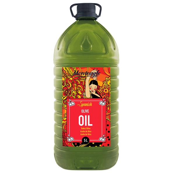 spanish virgin olive oil pet bottle 5lt monteagle brand simpplier