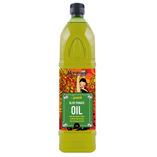 spanish olive pomace oil pet bottle 1lt monteagle brand simpplier